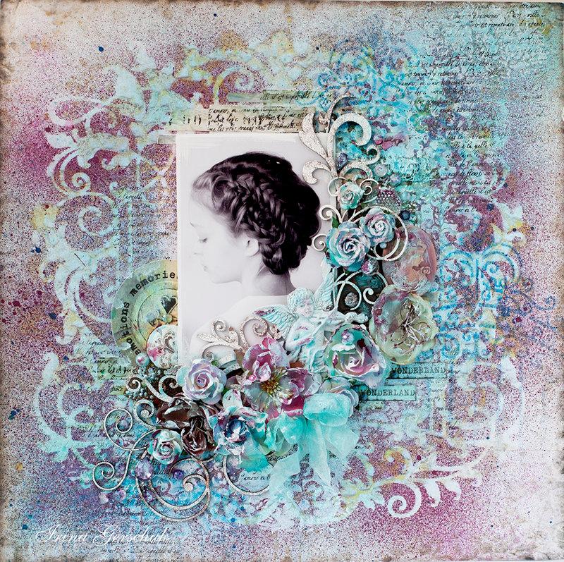 """LO """"Wings of her soul"""" for Blue Fern Studios"""
