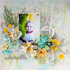"""""""Adorable"""" canvas"""