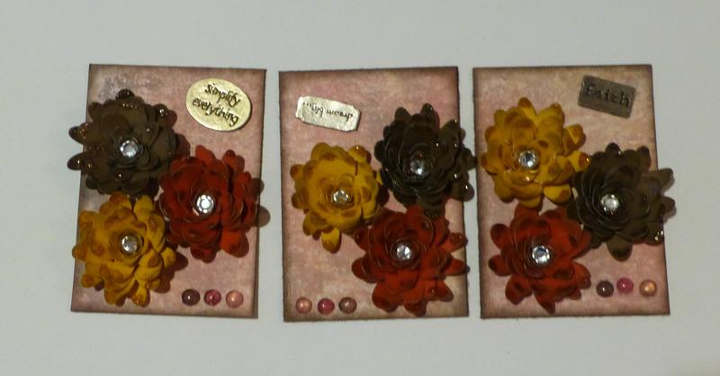 March ATC-from Lisa-Quilling Technique!