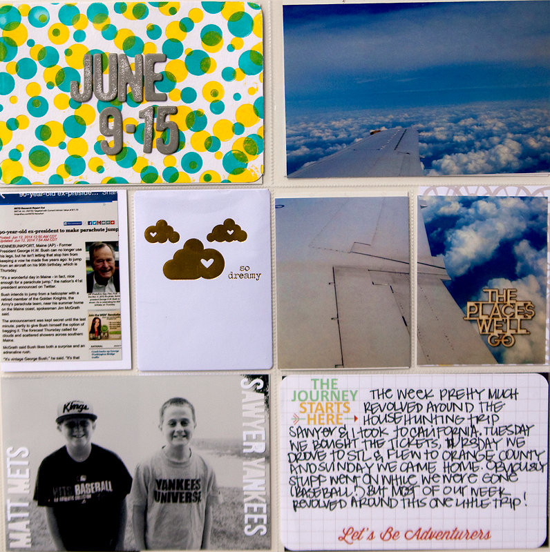 Project life week 24 + PROCESS VIDEO {WRMK}