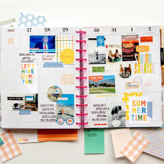 Memory Planner Layout [The Happy Planner®]
