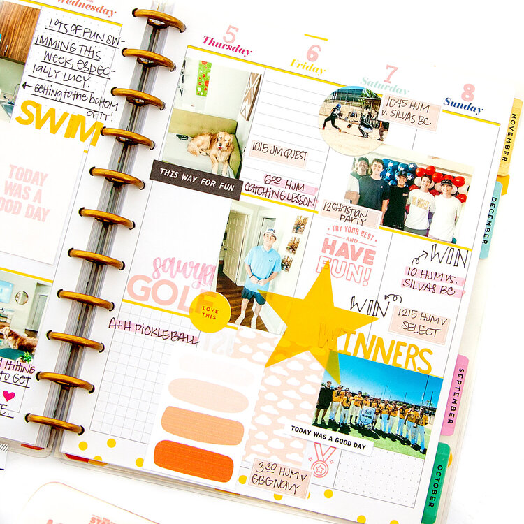 Memory Planner! Big Happy Planner + Stamping and Printables