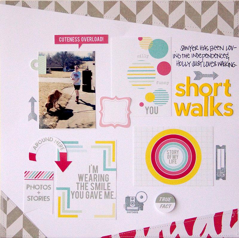 short walks {chic tags} + PROCESS VIDEO