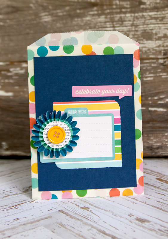 Celebrate Your Day {Scraptastic Club}