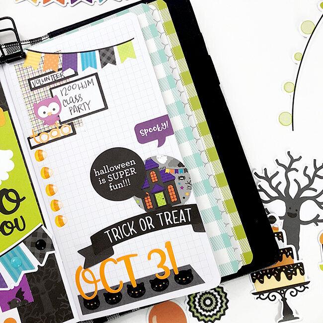 Doodlebug Designs Travelers Notebook + Pumpkin Party Planner