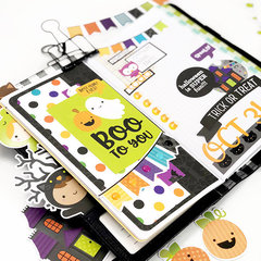 Doodlebug Designs Travelers Notebook + Pumpkin Party Planner
