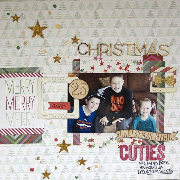 Christmas cuties + PROCESS VIDEO