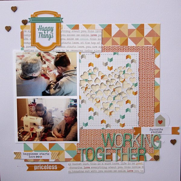 working together + PROCESS VIDEO {Chic Tags}