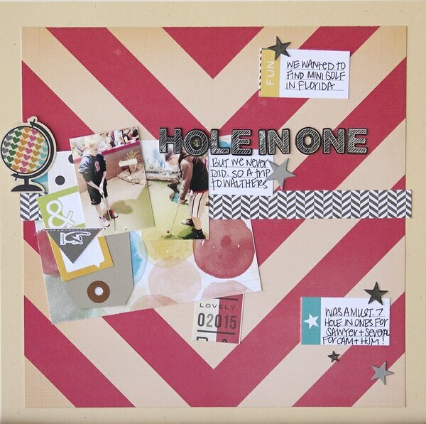 Hole In One {scraptastic kit club}
