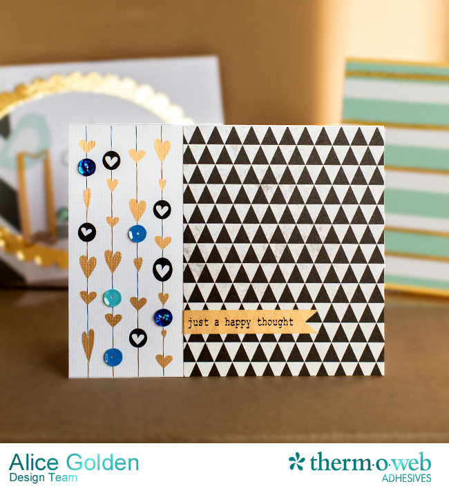 Therm O Web Gold Deco Foil Card