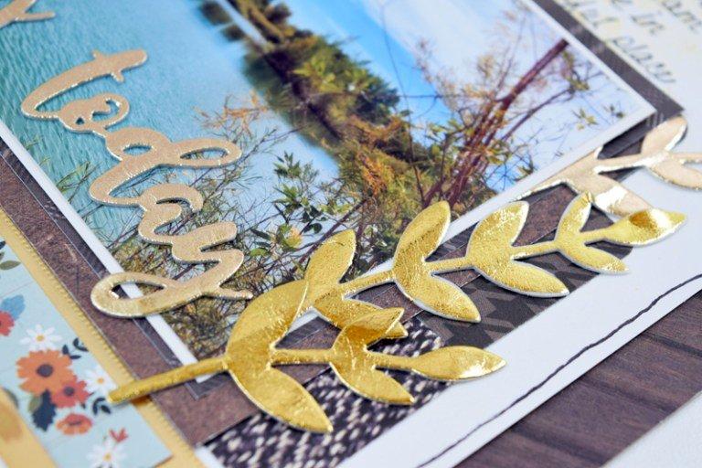 DecoFoil Gold Fall Embellishments