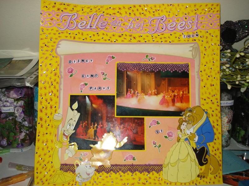 belle & het beest show disneyland parys'97