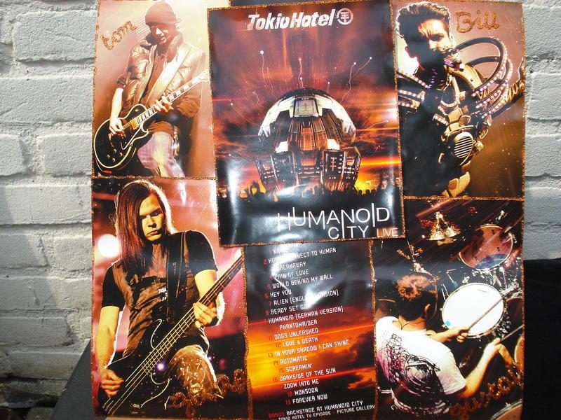 dvd humanoid live