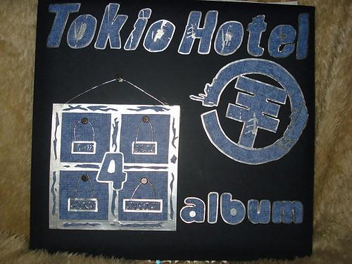 tokio hotel scrapalbum voorkant