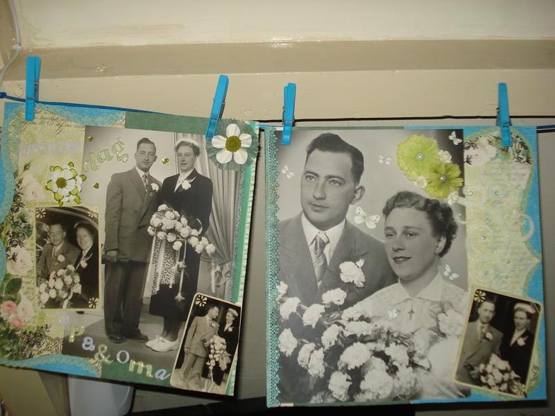 trouwdag opa & oma