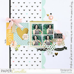 The Many Faces of Belle *Paper Camellia*