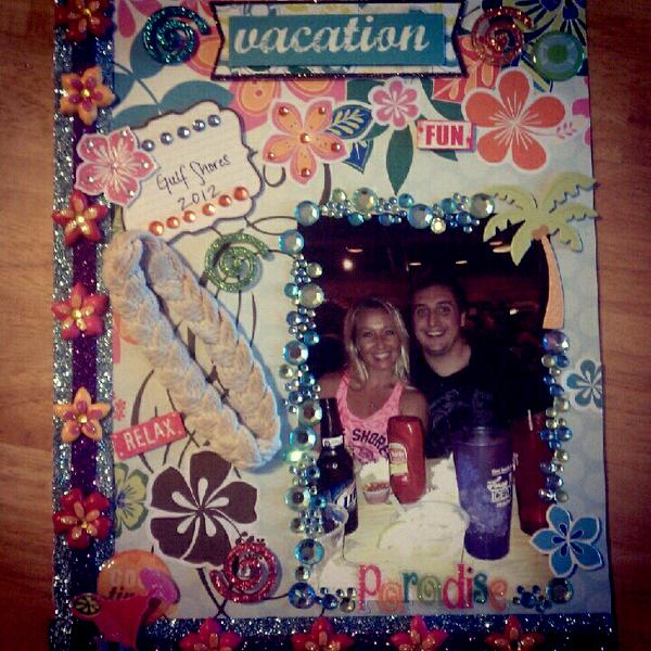 Bedazzled vacation page