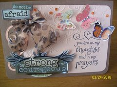 Sympathy card for a close family