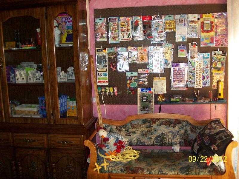 Peg Board & Martha Stewart Storage