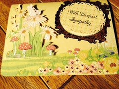 Sympathy card for one of our sb.com sisters