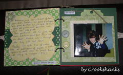 The Second two pages of my mini-album