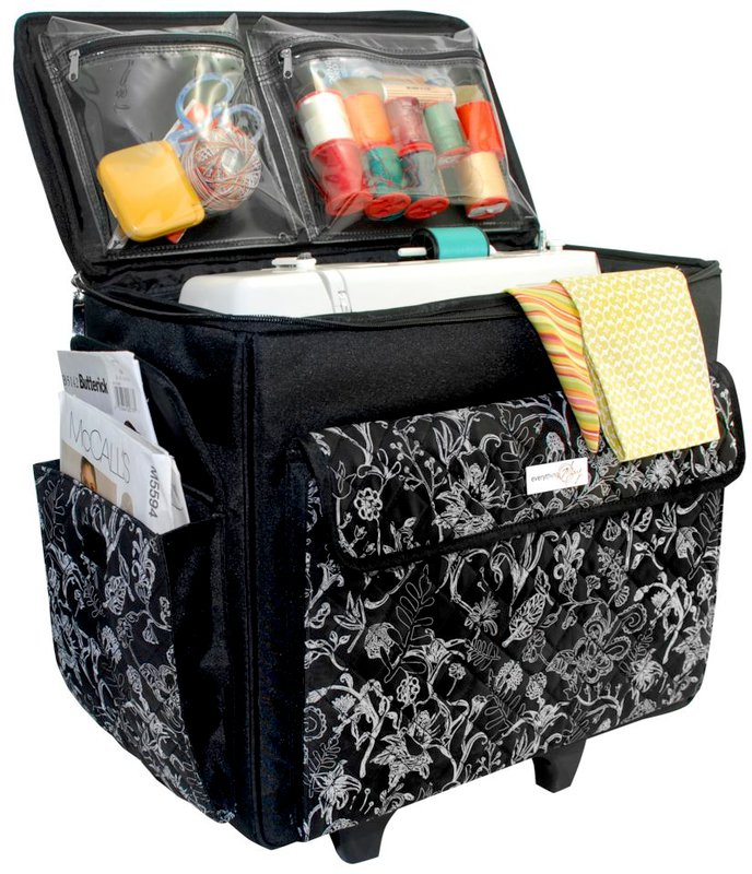 Everything Mary Originals Rolling Sewing Tote