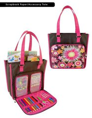 Everything Mary Originals Scrapbook Paper and Accesory Tote