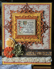 Give Thanks - Graphic 45 Card