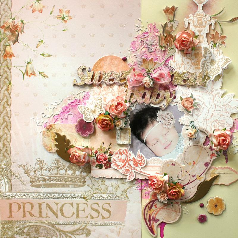 Sweet New Baby Princess