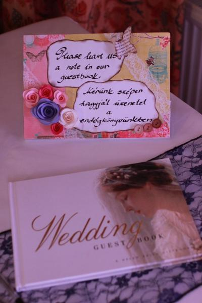 Our guest book sign