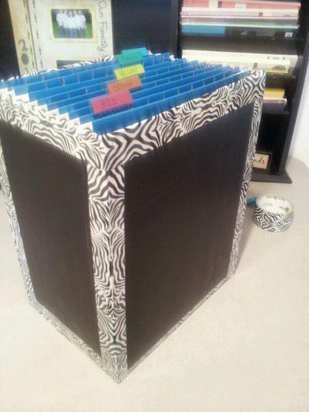 Cardstock Storage 2