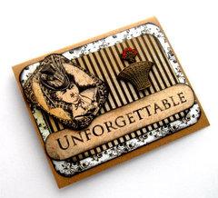 Unforgettable Victorian-Steampunk Card