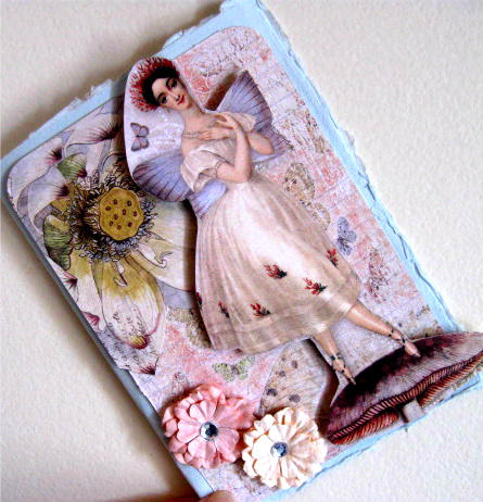 Another 3-d Fairy Card