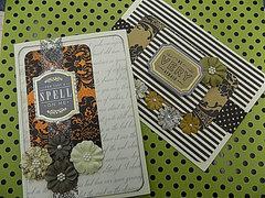 Elegant Halloween Cards
