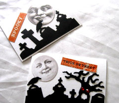 2 Halloween Gift Cards