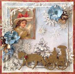 A Winter Ride - Gina's Designs