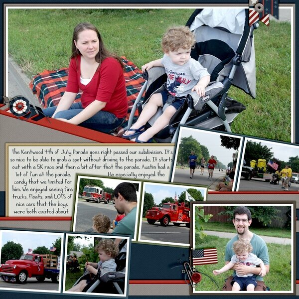 4th of July Parade Page 1