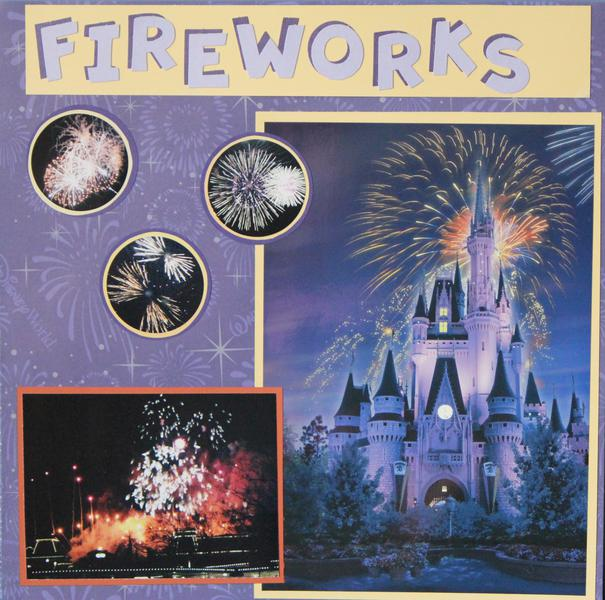 Disney World Fireworks!