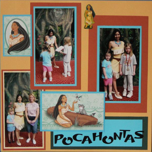 meeting Pocahontas!