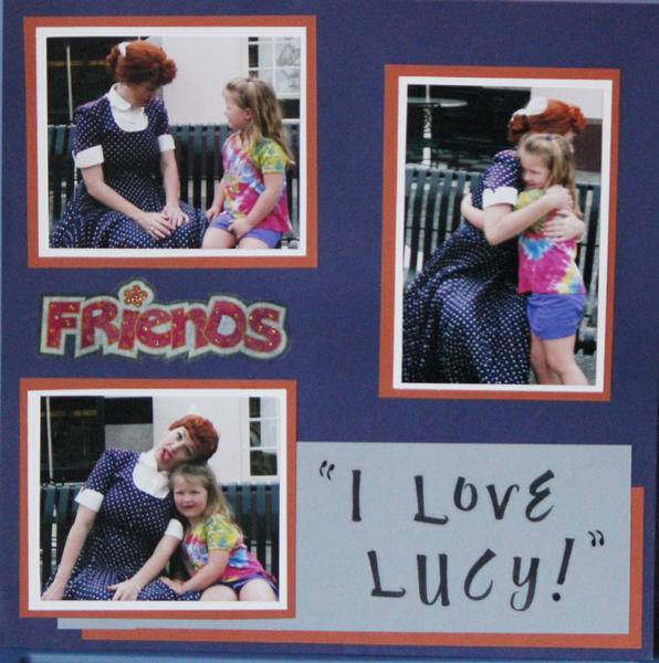 meeting LUCY at Universal Studios