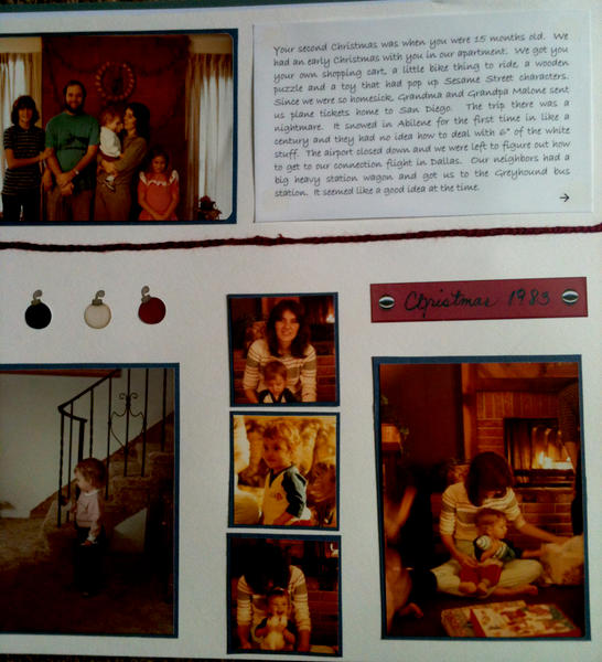 Lots of pics layout page 1
