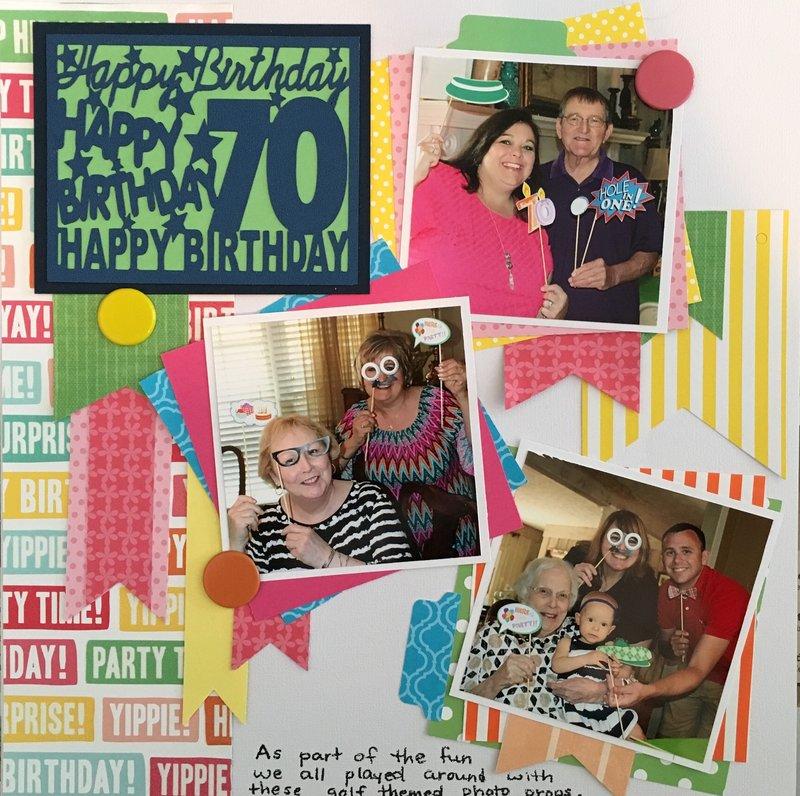 70th Birthday - It's Par-Tee Time
