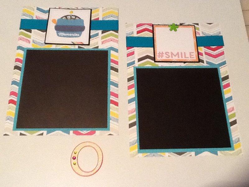 Echo Park Capture Life colored paper line kit swap & LOTW