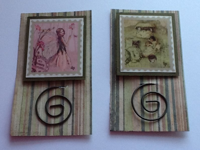 FabScraps Little Peeps Collection Kit Swap - Paperclips
