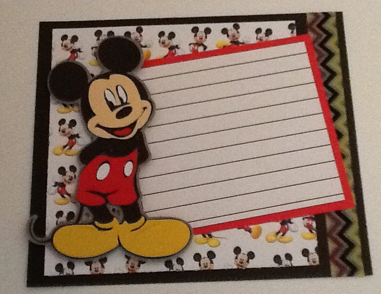 Disney Swap - Mickey Journal Box