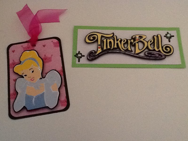 Disney Swap - Cinderella Tag, Tinkerbell Page Topper