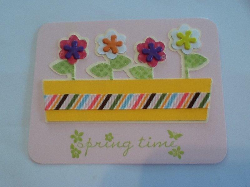 April Diecut Swap - Spring Bling Category