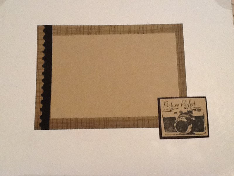 Kraft Embellishment Swap - photo mats