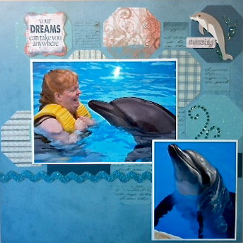 Swimming with the Dolphins Page 1