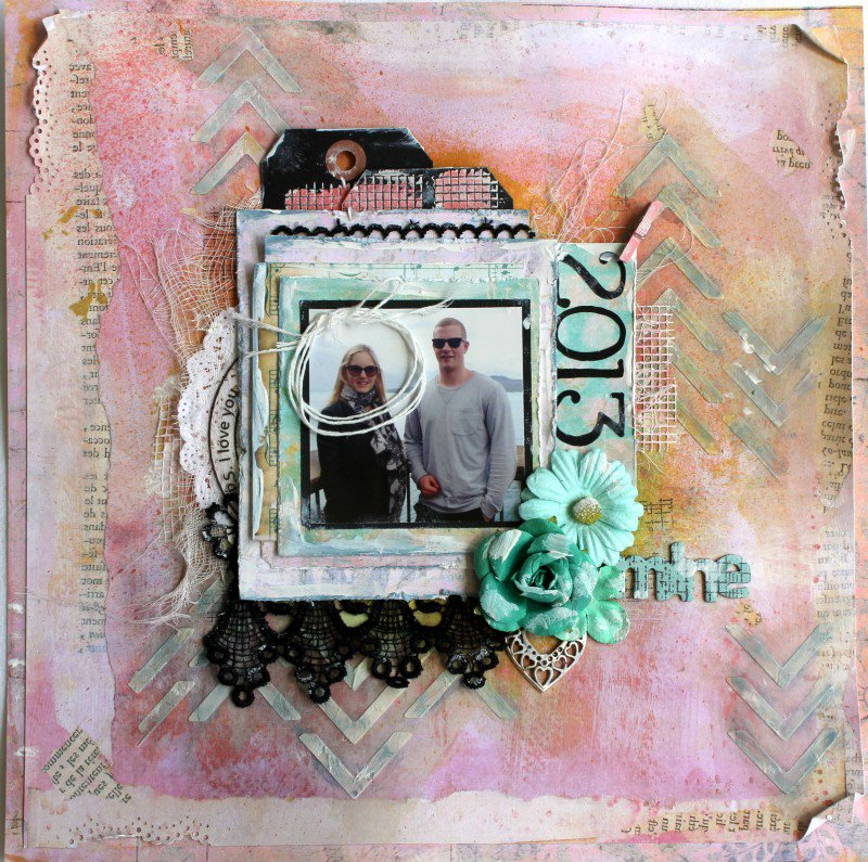 Layout - Mine - Michelle Frisby
